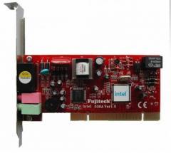 V.92 56K Fax Modem, Intel Chipset FM-INT