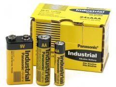 Industrial Alkaline batteries