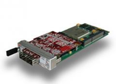 High-performance Virtex-6 AMC solution for Gigabit Ethernet applications