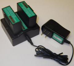LION-2 Battery, Charger and ACDC-2 Adapter