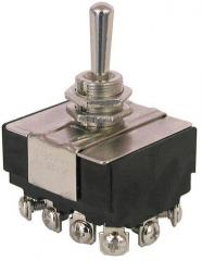 Toggle switch 4PST,ON-OFF,HD,AC
