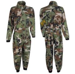 Camouflage Coverall and Uniform