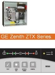 TR 22-6001-03 & TR 22-6001-04 Transfer Switches