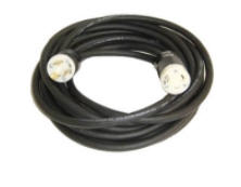 10/3 RUB CORD 100' WITH L530 MALE+ FEMALE ENDS