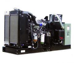 100 kW ISUZU Open-frame industrial diesel generators