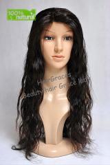 Full Lace Hair wig ondule