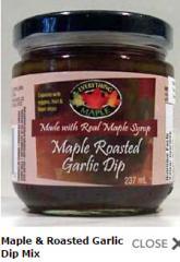 Maple & Roasted Garlic Dip Mix