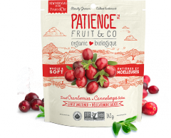 Whole & Soft Dried Cranberries, gently sweetened