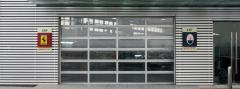 White Aluminum Glass Doors