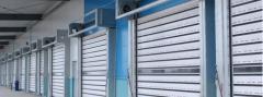 White High Speed Hard Doors