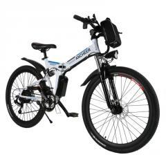 "ANCHEER 26"" Foldable Mountain Bike Electric"
