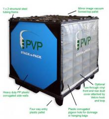 Stack-a-pack system