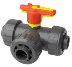 3 Way true union ball valves S4