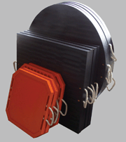 Outrigger  pads redco
