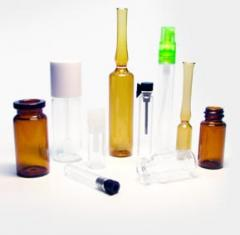 Tubing glass containers