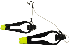 """Stacker downrigger release with 30"""" leader"""