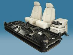 Automotive seat pallets