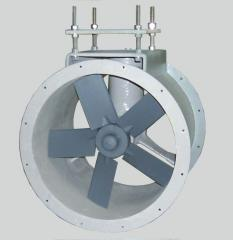 Fiberglass tube-axial duct fan features