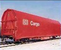 Wagons de marchandises ferroviaires couverts