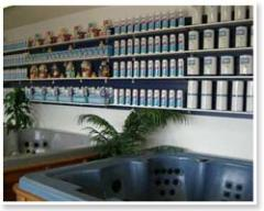Cabinet spas