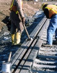 Embedded rail profiles
