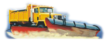 Snowplow vehicle suspensions
