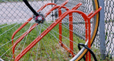 Bicycle rack (low style)