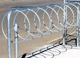 "Bicycle rack (42"" high style)"