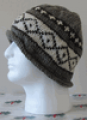 Wool Roll Hat (Natural Colou