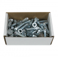 Sweep Bolts & Nuts Ctn of 50 1/2 X 2