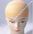 Deluxe beige wig cap