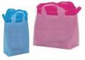 Soft loop handle bags HDPE