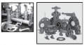 Piping systems, valves & fittings for processing liquid  slurry handling