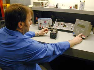 Order Calibration and Certification of avionic equipment