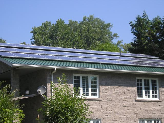Order Installation solar power generating systems.