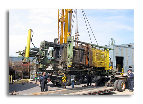 Order Installation of Equipment and start-up of plant production.