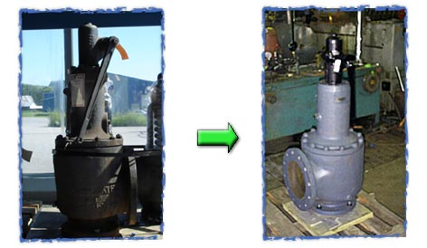 Order Repair safety valves