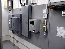 Electrical and mechanical components installation (HVAC)