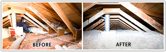 Order Insulation & Draft Proofing: Attic, Wall, and Crawlspace