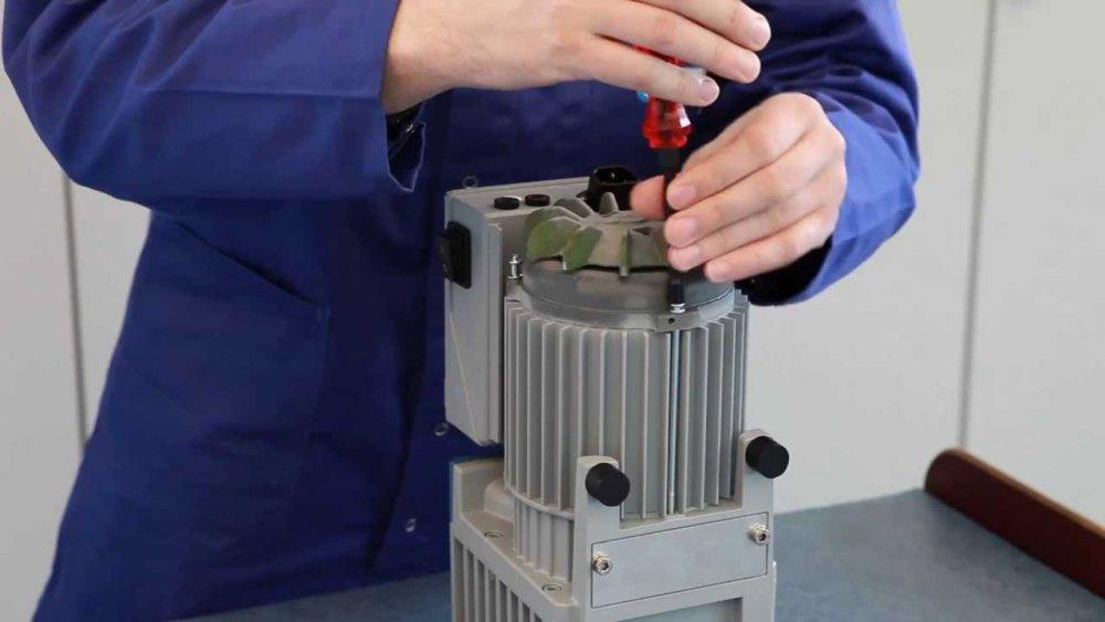 Order Vacuum Pump Repair - Freezing & Storage