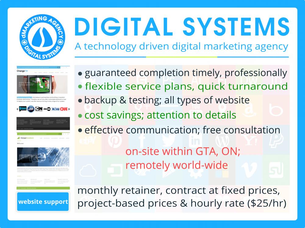 Order Professional website maintenance service