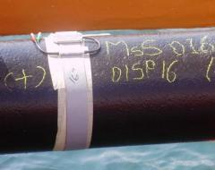 The nondestructive testing of pipelines