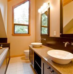 Bathrooms: Custom line