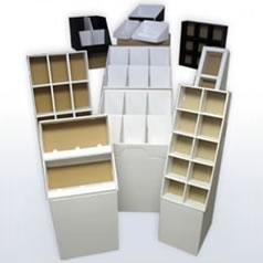 Displays, Merchandisers, boxes