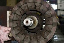 Remanufacturing pump or motor