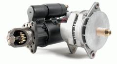 Repairs and rebuilds starters and alternators