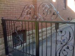 Repair service for old iron railings, fences