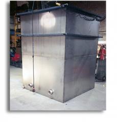 Steel design and fabrication job.