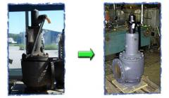Repair safety valves