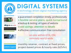 Professional website maintenance service